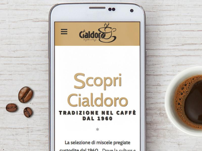 e-commerce caffè cialdoro