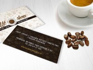 immagine coordinata caffè shop frosinone