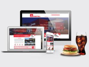 sito web one page autogrill pinetina